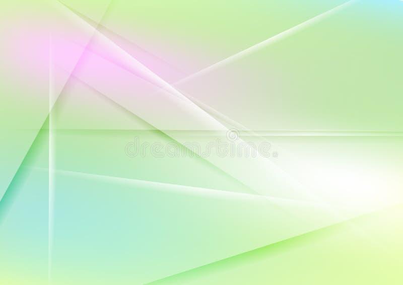 Ζωηρόχρωμο αφηρημένο σύγχρονο υπόβαθρο λωρίδων διανυσματική απεικόνιση