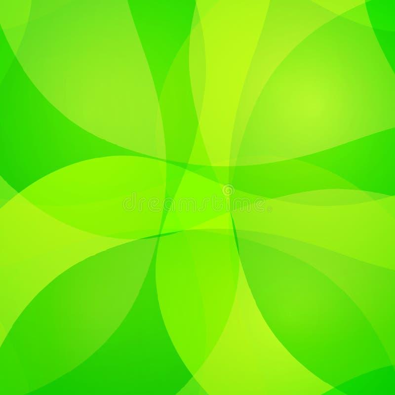 Ζωηρόχρωμο αφηρημένο υπόβαθρο με τις ζωηρόχρωμες κυματιστές γραμμές Διακοσμητική σύσταση σχεδίου διανυσματική απεικόνιση