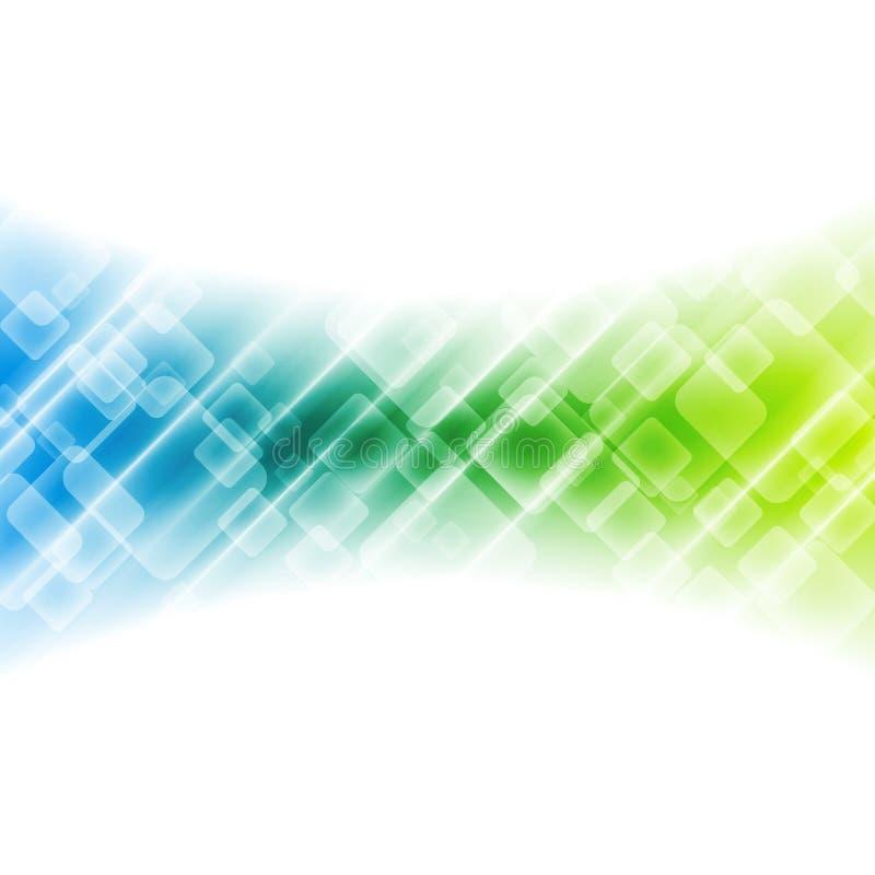 Ζωηρόχρωμο γεωμετρικό αφηρημένο υπόβαθρο τεχνολογίας ελεύθερη απεικόνιση δικαιώματος