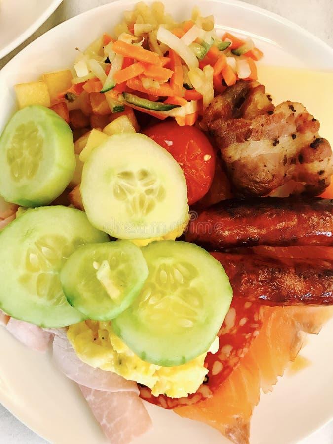ζωηρόχρωμο γεύμα στοκ φωτογραφίες με δικαίωμα ελεύθερης χρήσης