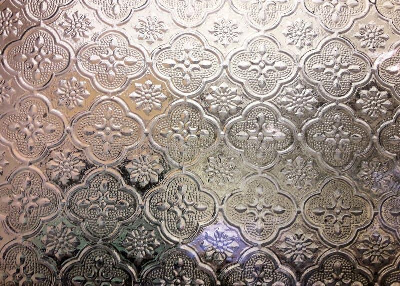 Ζωηρόχρωμο γυαλί θαμπάδων του χρυσού υποβάθρου παραθύρων στοκ φωτογραφίες με δικαίωμα ελεύθερης χρήσης