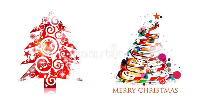 Download ζωηρόχρωμο δέντρο σχεδίο&upsi Διανυσματική απεικόνιση - εικονογραφία από χρυσός, χριστούγεννα: 17053177