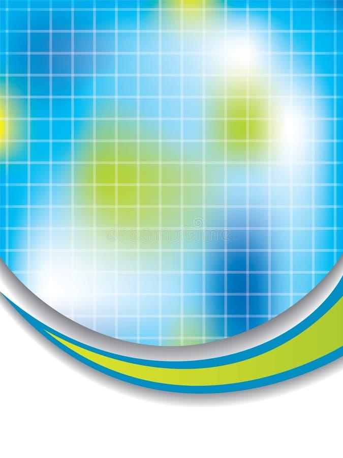ζωηρόχρωμο δίκτυο ανασκό&pi διανυσματική απεικόνιση