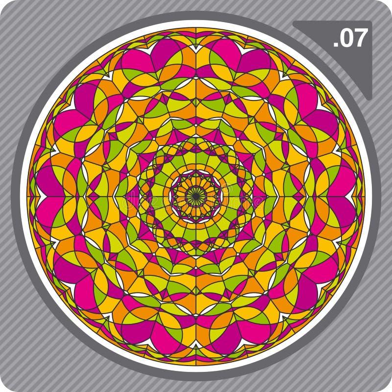 ζωηρόχρωμο διάνυσμα καλ&epsil διανυσματική απεικόνιση