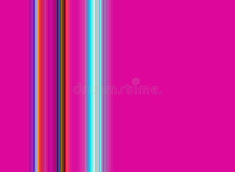 Ζωηρόχρωμο εύθυμο υπόβαθρο γραμμών και μορφών αντίθεσης στα χρώματα κρητιδογραφιών ελεύθερη απεικόνιση δικαιώματος