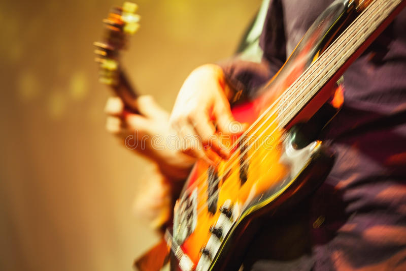 Ζωηρόχρωμο θολωμένο υπόβαθρο μουσικής ροκ στοκ φωτογραφία με δικαίωμα ελεύθερης χρήσης