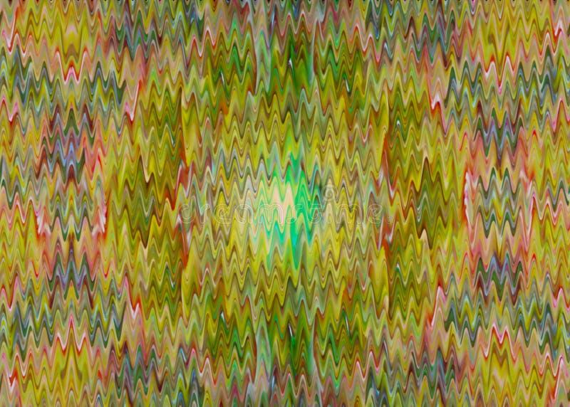Ζωηρόχρωμο κυματισμένο κυματιστό υπόβαθρο διανυσματική απεικόνιση