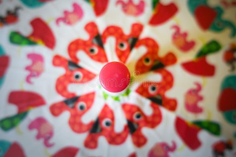 Ζωηρόχρωμο ομπρέλα ή parasol στοκ εικόνες