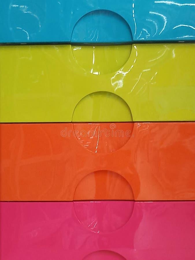 ζωηρόχρωμο συρτάρι στοκ φωτογραφία με δικαίωμα ελεύθερης χρήσης