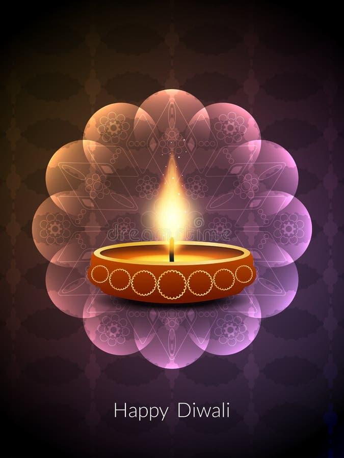 Ζωηρόχρωμο σχέδιο υποβάθρου για το φεστιβάλ diwali ελεύθερη απεικόνιση δικαιώματος