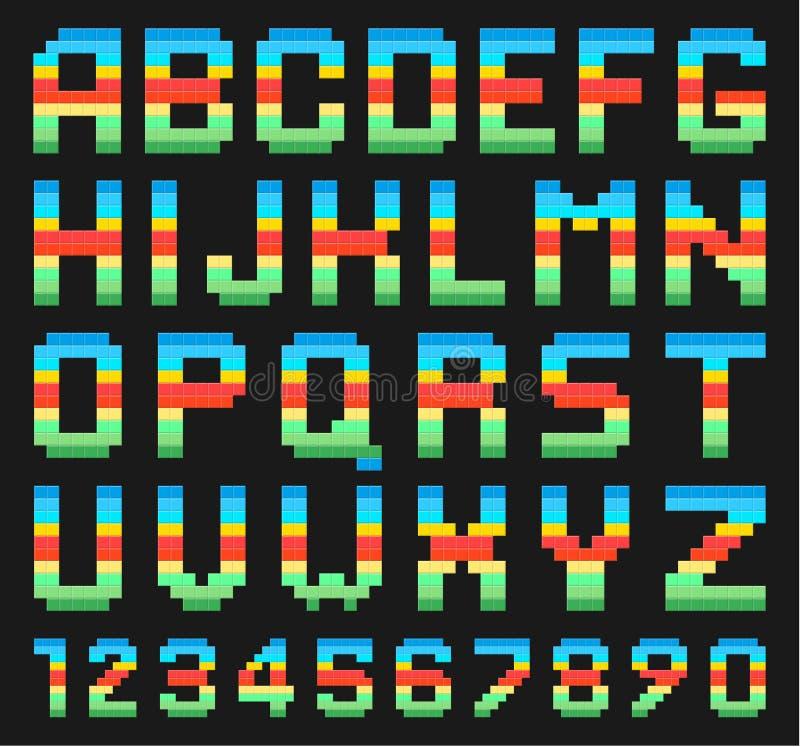 Download ζωηρόχρωμο σύνολο αλφάβητου Διανυσματική απεικόνιση - εικονογραφία από ζωηρόχρωμος, ύφος: 62716331