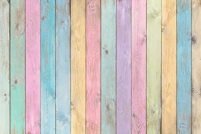 Ζωηρόχρωμο σύσταση ή υπόβαθρο σανίδων κρητιδογραφιών ξύλινο στοκ εικόνες με δικαίωμα ελεύθερης χρήσης
