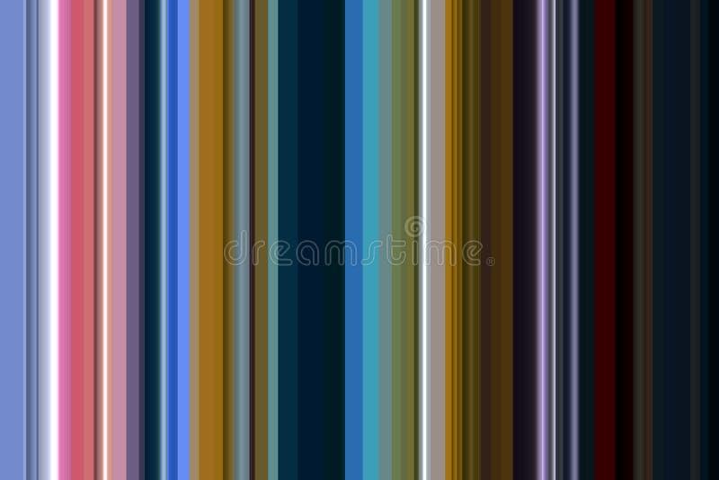 Ζωηρόχρωμο υπόβαθρο γραμμών και μορφών αντίθεσης στα χρώματα κρητιδογραφιών απεικόνιση αποθεμάτων