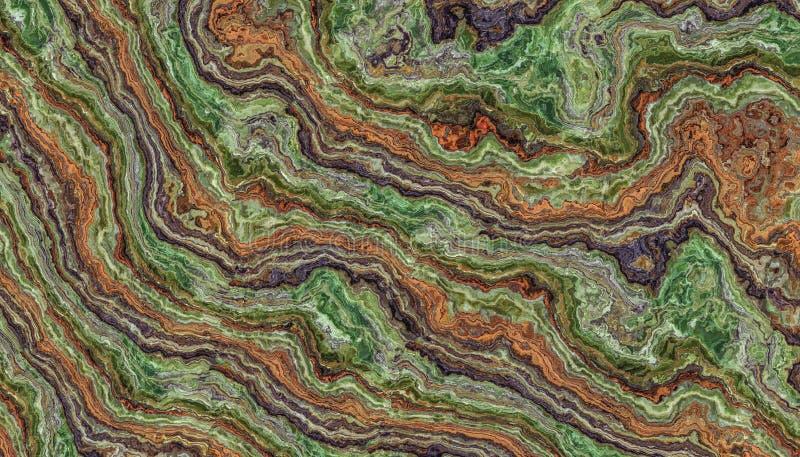 Ζωηρόχρωμο υπόβαθρο κεραμιδιών Onyx απεικόνιση αποθεμάτων
