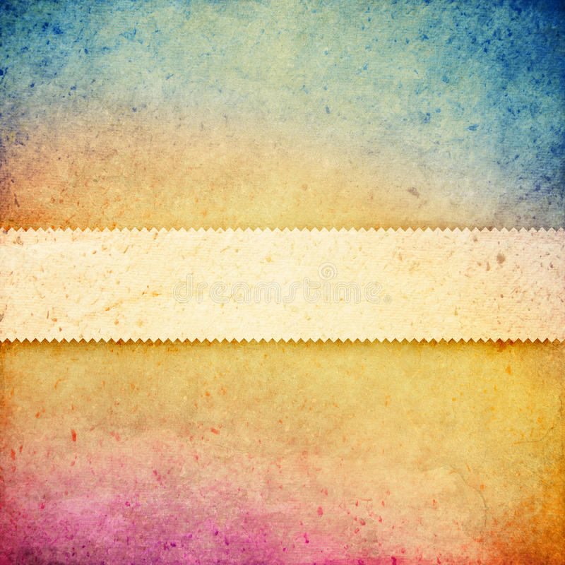 Ζωηρόχρωμο υπόβαθρο με το διάστημα για το κείμενο στοκ εικόνα με δικαίωμα ελεύθερης χρήσης