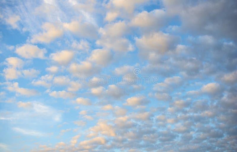 Ζωηρόχρωμο υπόβαθρο ουρανού μετά από το ηλιοβασίλεμα στοκ φωτογραφία με δικαίωμα ελεύθερης χρήσης