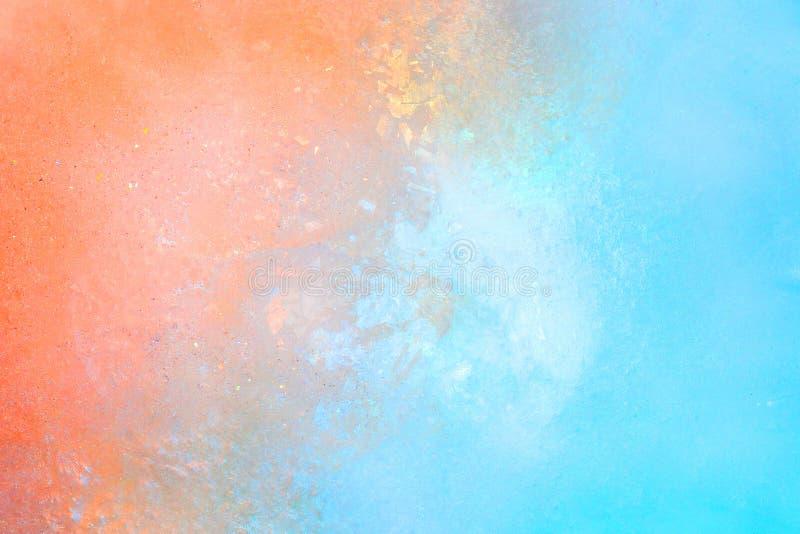 Ζωηρόχρωμο υπόβαθρο σύστασης πάγου Ιριδίζοντα ολογραφικά φωτεινά χρώματα του χειμώνα ή του πάγου για τα θερινά ποτά στοκ φωτογραφία με δικαίωμα ελεύθερης χρήσης