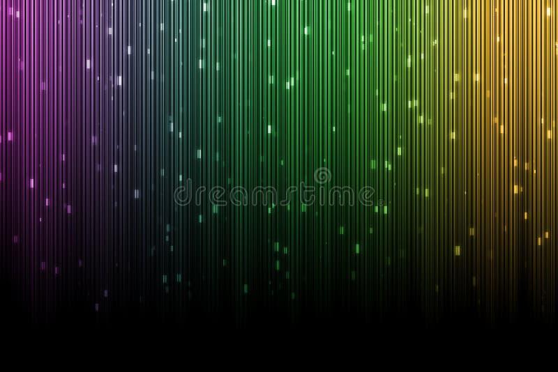 Ζωηρόχρωμο υπόβαθρο, το χρώμα των borealis αυγής στοκ εικόνα