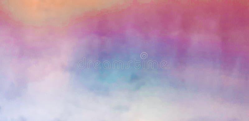 Ζωηρόχρωμο υπόβαθρο χρωμάτων watercolor μουτζουρωμένο στοκ φωτογραφία με δικαίωμα ελεύθερης χρήσης