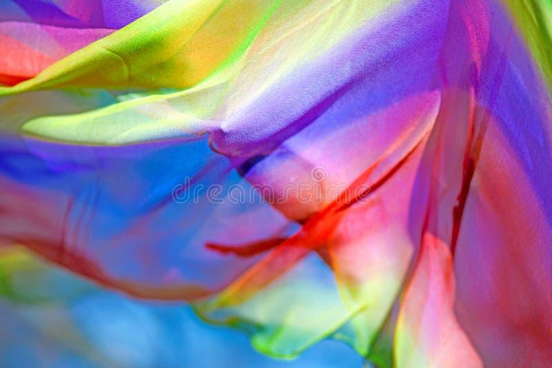 Ζωηρόχρωμο υφαντικό υπόβαθρο στοκ φωτογραφία με δικαίωμα ελεύθερης χρήσης
