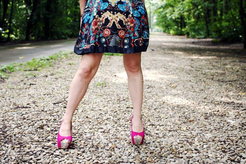 ζωηρόχρωμο φόρεμα στοκ εικόνα με δικαίωμα ελεύθερης χρήσης