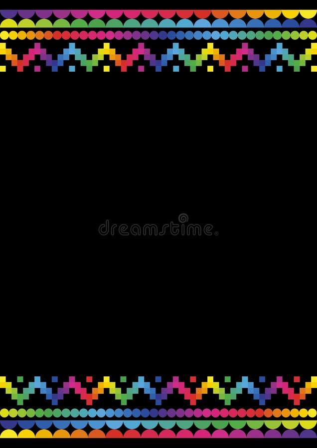 ζωηρόχρωμο ύφος inca 2 ανασκόπη&s στοκ φωτογραφία με δικαίωμα ελεύθερης χρήσης