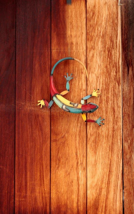Ζωηρόχρωμο gecko κασσίτερου στοκ φωτογραφία με δικαίωμα ελεύθερης χρήσης