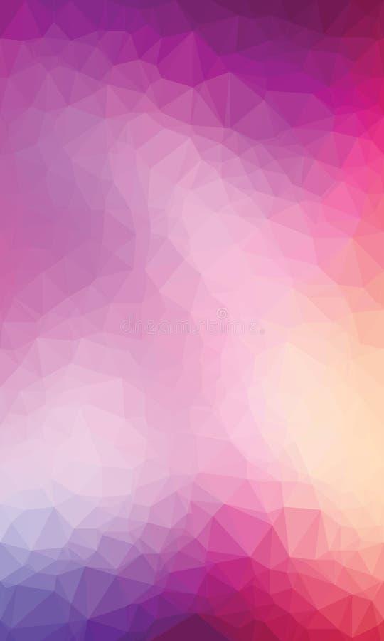 Ζωηρόχρωμο polygonal backgroound στοκ εικόνα
