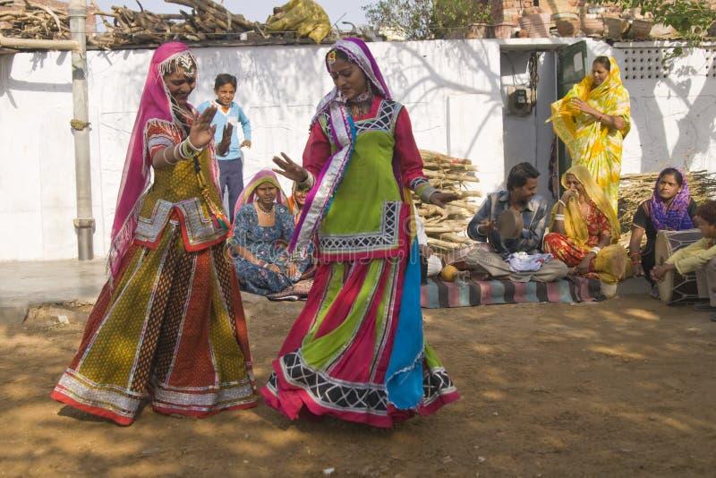 ζωηρόχρωμο Rajasthan στοκ εικόνες