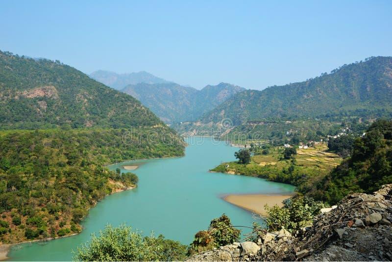 Ζωηρό Ganga στοκ φωτογραφίες