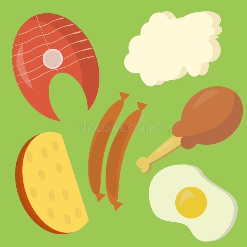 Ζωικές πρωτεΐνες στοκ εικόνες