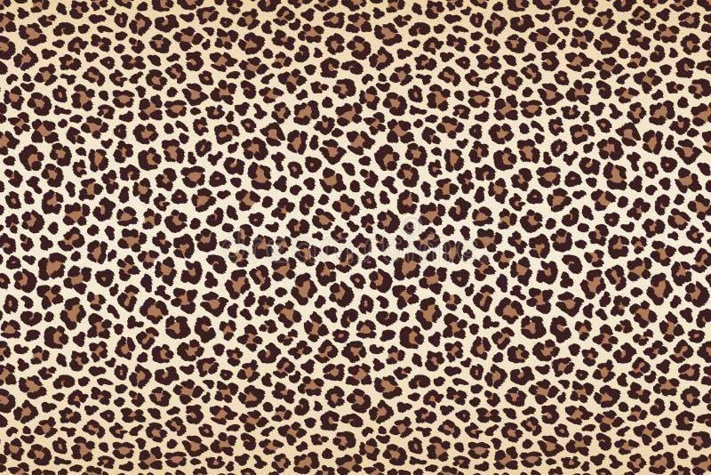 Ζωική γούνα σημείων λεοπαρδάλεων, οριζόντια σύσταση διάνυσμα διανυσματική απεικόνιση