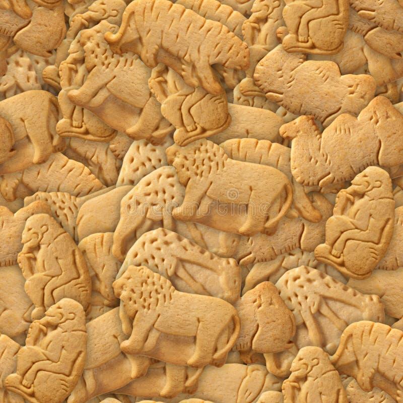 ζωική κροτίδα μπισκότων στοκ φωτογραφία