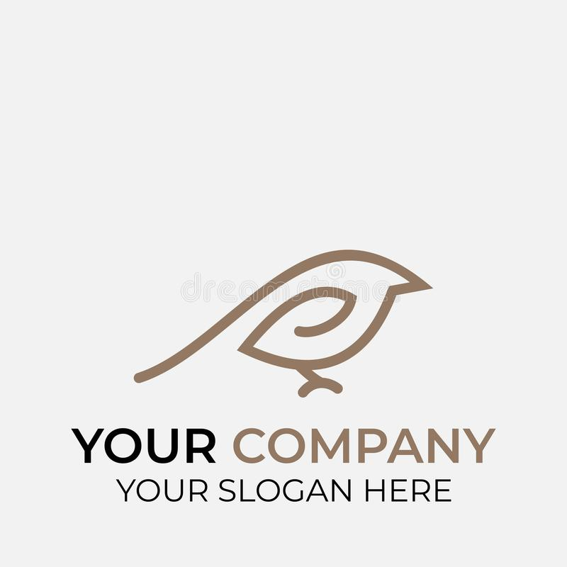 Ζωικό σχέδιο λογότυπων απεικόνιση αποθεμάτων