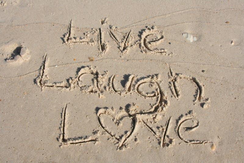 ζωντανή αγάπη γέλιου στοκ εικόνα
