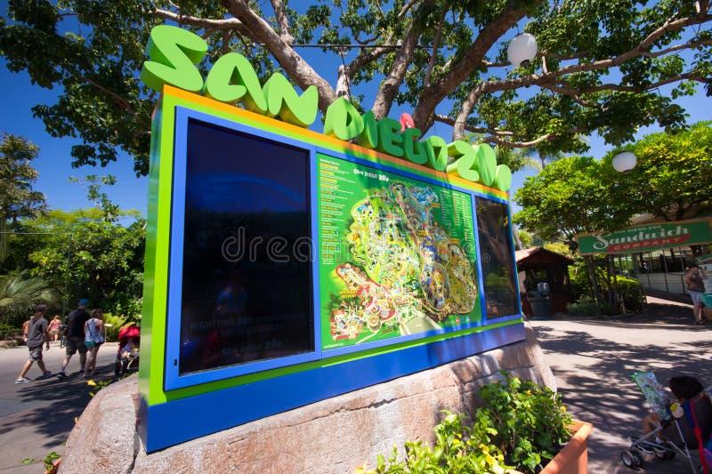 Ζωολογικός κήπος του Σαν Ντιέγκο στοκ εικόνα