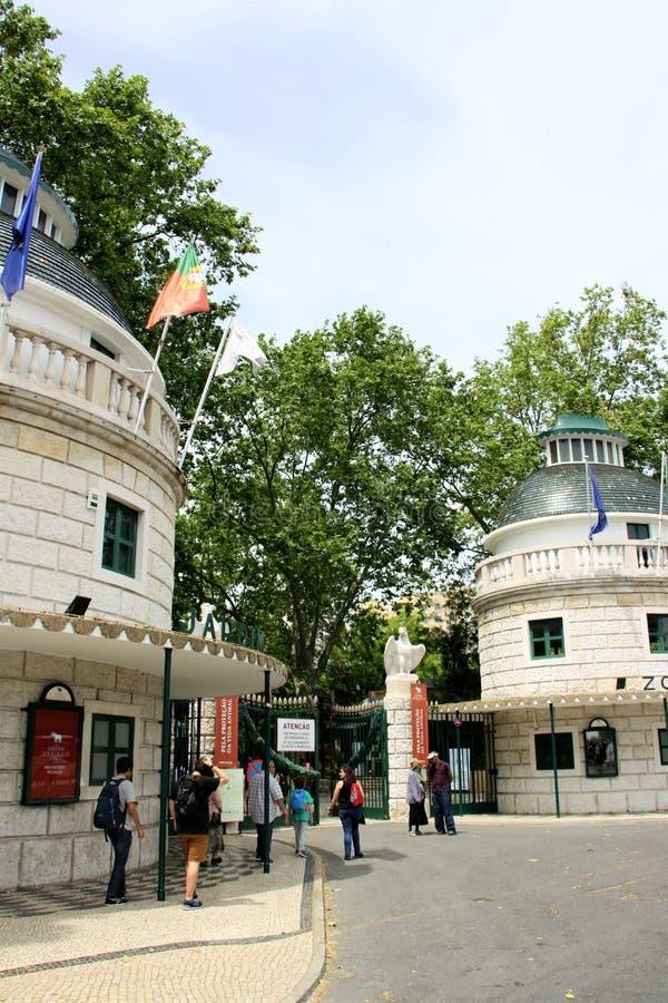 Ζωολογικός κήπος της Λισσαβώνας στοκ εικόνες με δικαίωμα ελεύθερης χρήσης