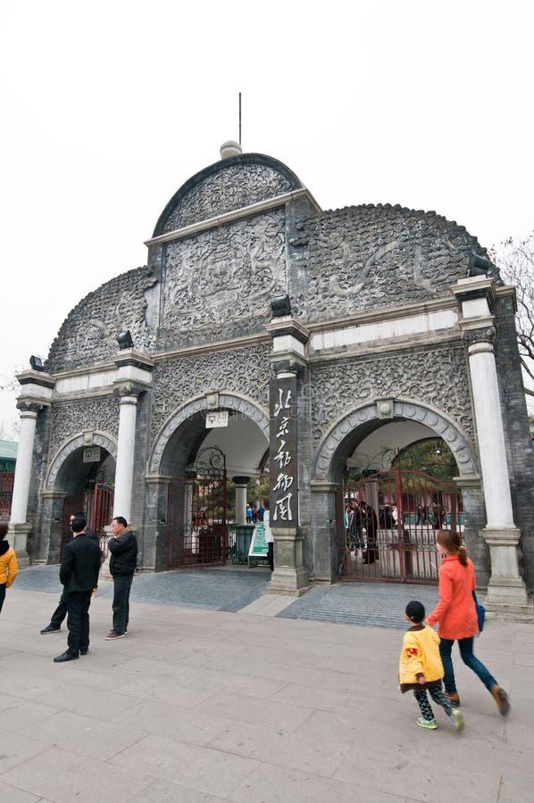 Ζωολογικός κήπος του Πεκίνου στοκ εικόνες