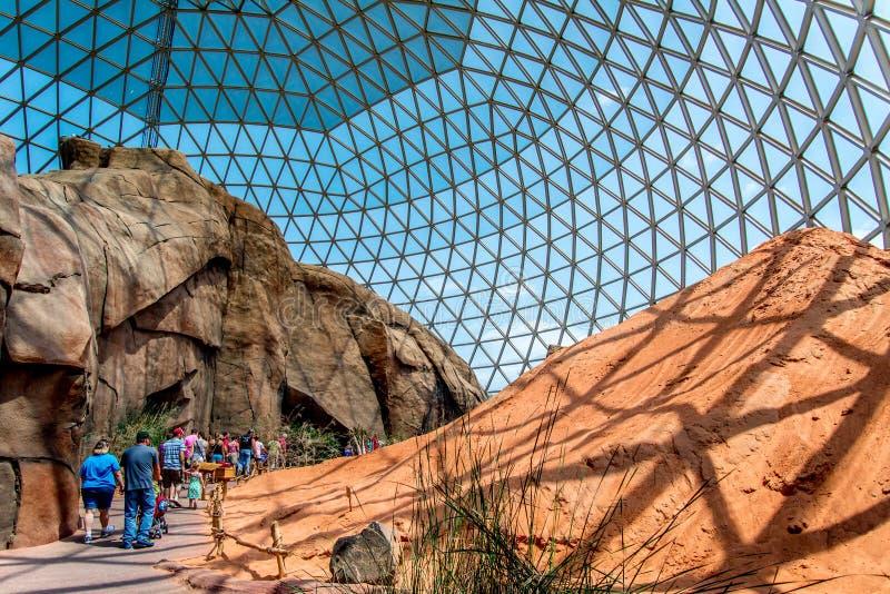 Ζωολογικός κήπος του Henry Doorly θόλων ερήμων στοκ φωτογραφίες με δικαίωμα ελεύθερης χρήσης