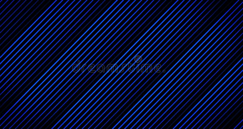 Ζωτικότητα γραμμών υποβάθρου που εξασθενίζει μακριά στους μπλε τόνους στο Μαύρο από 4k το πλαίσιο ζωτικότητας στοκ εικόνα με δικαίωμα ελεύθερης χρήσης
