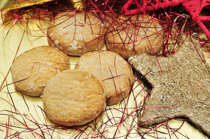 ζύμες Ισπανία mantecados Χριστουγ στοκ φωτογραφίες
