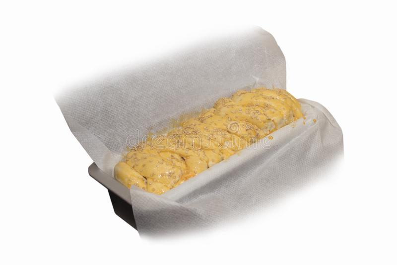 Ζύμη για το εγχώριο ψωμί στοκ φωτογραφία με δικαίωμα ελεύθερης χρήσης