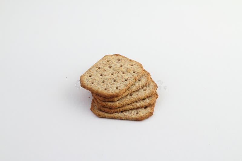 Ζύμη, μπισκότο, μπισκότα που απομονώνονται στο άσπρο υπόβαθρο στοκ φωτογραφίες