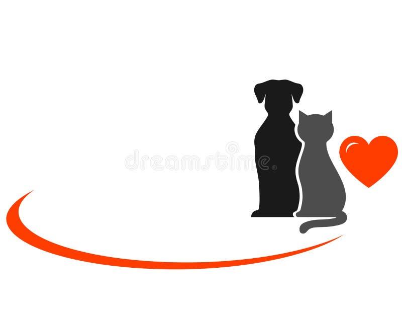 Ζώα με την καρδιά απεικόνιση αποθεμάτων