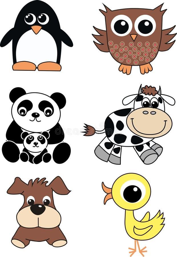 ζώα χαριτωμένα ελεύθερη απεικόνιση δικαιώματος