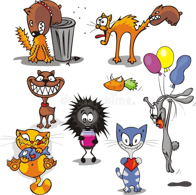 ζώα 1 αστεία ελεύθερη απεικόνιση δικαιώματος