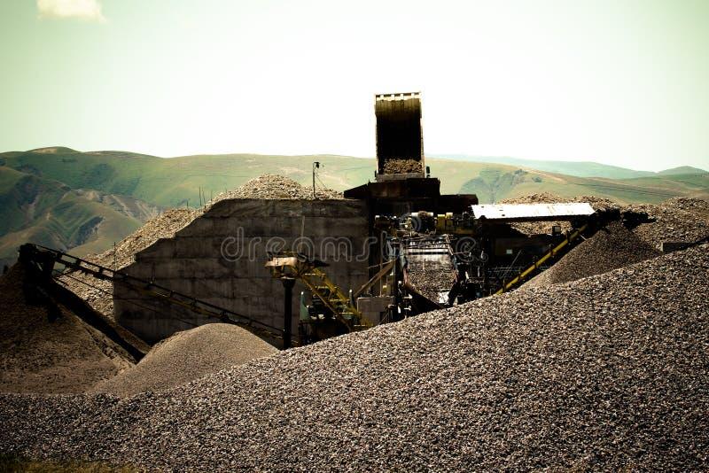 Ζώνες μεταφορέων στο ορυχείο βαμμένος στοκ φωτογραφία με δικαίωμα ελεύθερης χρήσης