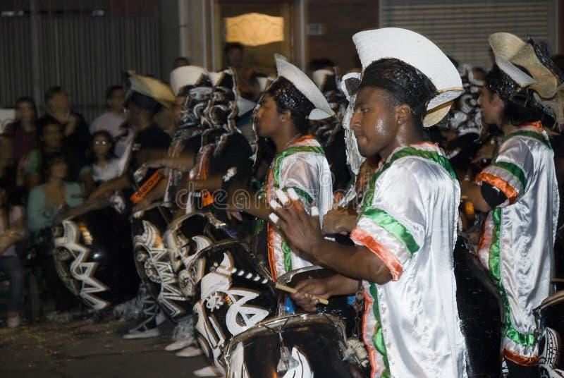 ζώνη καρναβάλι Μοντεβίδε&omicro στοκ εικόνα με δικαίωμα ελεύθερης χρήσης
