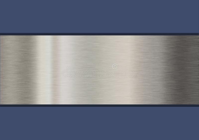 Ζώνη μετάλλων διανυσματική απεικόνιση