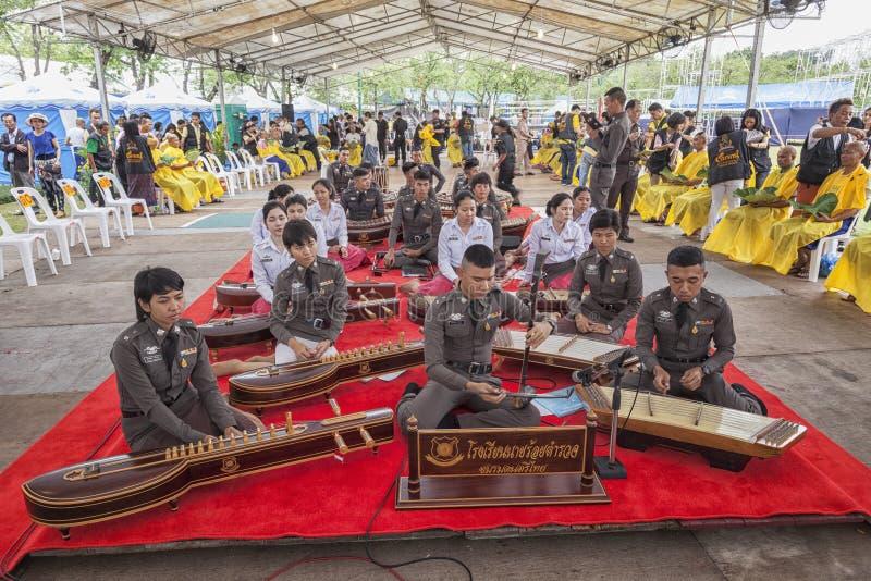 Ζώνη μουσικής στρατού της Ταϊλάνδης στοκ εικόνα με δικαίωμα ελεύθερης χρήσης